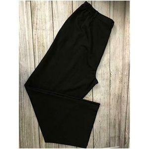 NWT Lauren Ralph Lauren 16W Black Dress Pants 16 W